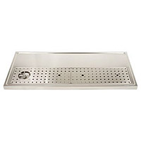 Stainless Steel Rinser Drain Drip Tray - 51