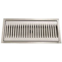 Micromatic DP-220D - Stainless Steel Flush Mount Drip Tray w/ Drain