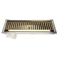 Flush Mount Stainless Steel/PVD Brass with Drain