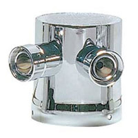 Two Product Tower Adapter - Chrome