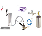 Kegco Deluxe Tower Kegerator Conversion Kit
