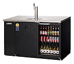 Everest EBD2-BBG Back Bar & Direct Draw Commercial Keg Refrigerator with Solid & Glass Doors