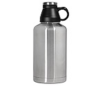 Kegco EBG-64SS Screw Cap Beer Growler - 64 oz Double Wall Stainless Steel with Brushed Finish