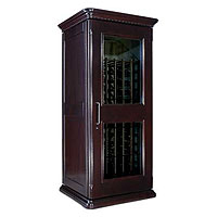 European Country Euro 1400 172-Bottle Wine Cellar - Chocolate Cherry Finish