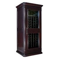 European Country Euro 1400 172-Bottle Wine Cellar - Chocolate Cherry Finish