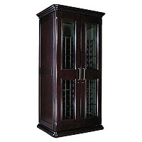 European Country Euro 2400 286-Bottle Wine Cellar - Chocolate Cherry Finish
