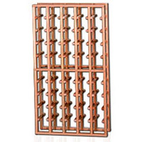 Redrack 5 Column 50 Split Bottle Redwood Modular Wine Rack