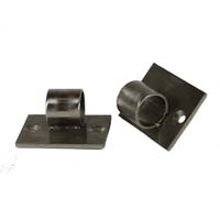 Angled Mounting Plate Pair - Black Pearl Finish