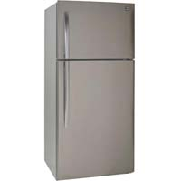 18.0 Cu. Ft. Frost Free Two Door Apartment Refrigerator - Stainless Steel