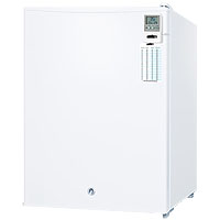 Compact Refrigerator for Medical and Laboratory Settings - White