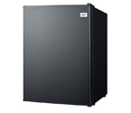 Summit FF29B Compact Auto Defrost All-Refrigerator- 2.4 Cu. Ft., Black