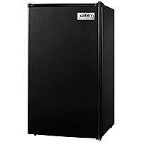3.6 Cu. Ft. - Compact Auto Defrost Refrigerator - Black