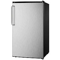 3.6 Cu. Ft. Refrigerator - Stainless Steel Door with Towel Bar Handle