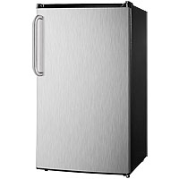 3.6 Cu. Ft. ADA Compliant Refrigerator - Stainless Steel with Towel Bar Handle