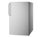 Summit FF521BLCSS 4.1 cf Undercounter Built-in Refrigerator - Stainless Steel