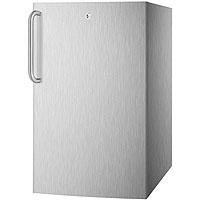 4.1 cf Undercounter Built-in Refrigerator - Stainless Steel