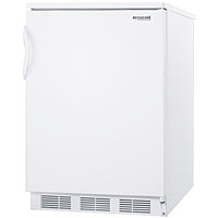 5.5 cf Commercial Undercounter Refrigerator - White