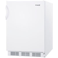 5.5 cf Commercial Undercounter All Refrigerator - White