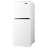 Summit FF71 4.8 Cu Ft Frost Free Slim Line Apartment Refrigerator & Freezer