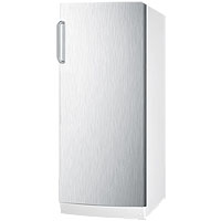 Summit FFAR10SSTB 10.1 Cu. Ft. All-Refrigerator - Stainless Steel Door