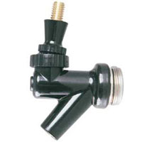 Plastic Wine Faucet with Brass Lever