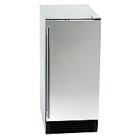 44 lbs. Built-in Clear Ice Maker - Stainless Steel Door