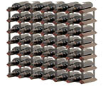 Bordex 42 Bottle Wine Rack - Cherry Finish