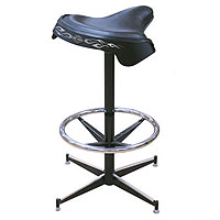 Solo Saddle Seat Bar Stool