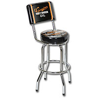 Oil Can Barstool