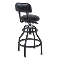 Nostalgic B&S Adjustable Barstool
