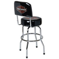 Harley-Davidson Low Rider Bar & Shield Bar Stool