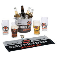 Harley-Davidson Forged in Iron Party Bucket Set