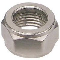 Stainless Steel Coupling Hex Nut - Set of 12