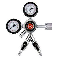 Kegco HL-62-2 Commercial Grade Dual Gauge Two Product Regulator
