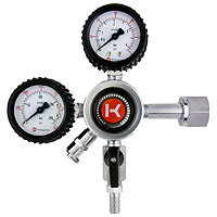 Kegco HL-62 Commercial Grade Dual Gauge Regulator