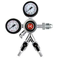 Kegco HL-62N-2 Commercial Grade Dual Gauge Two Product Regulator