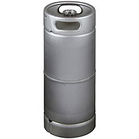 5 Gallon Commercial Kegs  with Threaded D System Sankey Valve