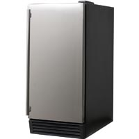44 lbs. Built-in Ice Maker - Stainless Steel Door