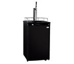 Kegco K199B-G Guinness® Dispensing Kegerator with Black Cabinet and Door