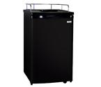 Kegco K199B Kegerator Cabinet Only - Black Cabinet and Door