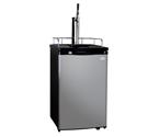 Kegco K199SS-G Guinness® Dispensing Kegerator with Black Cabinet and Stainless Steel Door