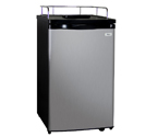 Kegco K199SS-01 Kegerator Cabinet Only - Black Cabinet and Stainless Steel Door