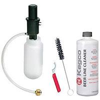 Standard Beer Line Cleaning Kit - 1 Qt. Bottle w/ 32 oz. Cleaner