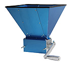 Kegco KM11GM-3R Grain Mill with 11lb Hopper and 3 Rollers