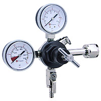 Commercial Grade Double Gauge Beer Regulator