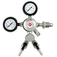 Dual Gauge Two Product Nitrogen Regulator