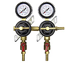 Kegco LHC-96-S2 Two Product Commercial Grade Secondary Co2 Regulator