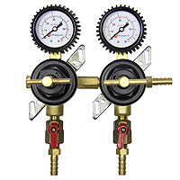Premium Two Product Secondary Co2 Regulator