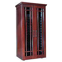 Mission 2400 286 -Bottle Wine Cabinet - Classic Cherry Finish