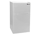 Kegco MDC315-2WW - 3.1 CF Two Door Counterhigh Refrigerator - White